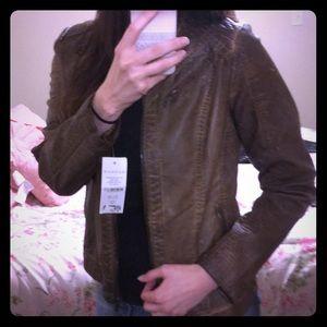 NWT light brown jacket.